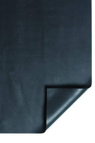 HEISSNER TF177-00 PVC Teichfolie, 0,5 mm, 5x4m = 20 qm, schwarz