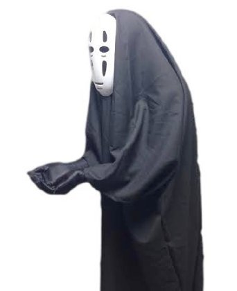 今年大流行!! ハロウィン 2016 千と千尋の神隠し カオナシ 風 衣装 セット 衣装 、 マスク 、手袋 コスチュ...
