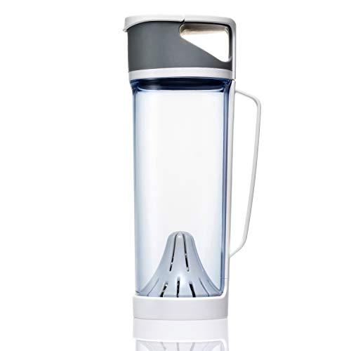 i-water Classic Home 1400 Alkaline Hydrogen Ionizer Bottle [1400 ml/Blue]