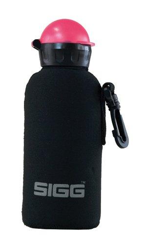 Sigg Flaschenpouch Neoprene, Schwarz, 0.4 Liter, 8332.4