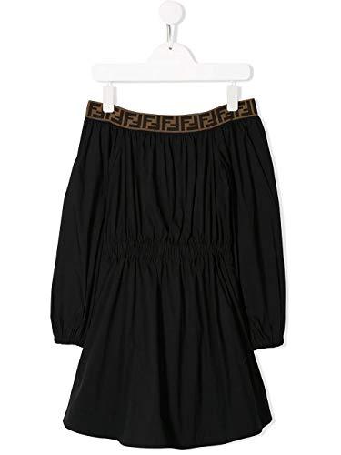 Luxury Fashion | Fendi Meisjes JFB314AAC3F0QA1 Zwart Elasthaan Jurken | Lente-zomer 20