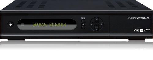Microelectronic Micro M1HD+CI+ digitaler HD Satelliten-Receiver (Twin-Tuner, 1x CI+, HDMI, Ethernet, USB 2.0, PVR-Ready) schwarz