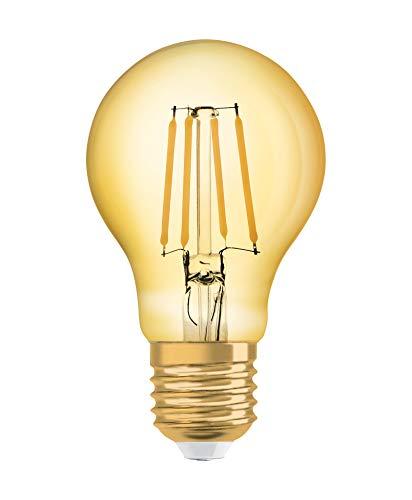 Osram LED Vintage 1906 Lampe, Sockel: E27, Warm White, 2500 K, 7 W, Glühbirne