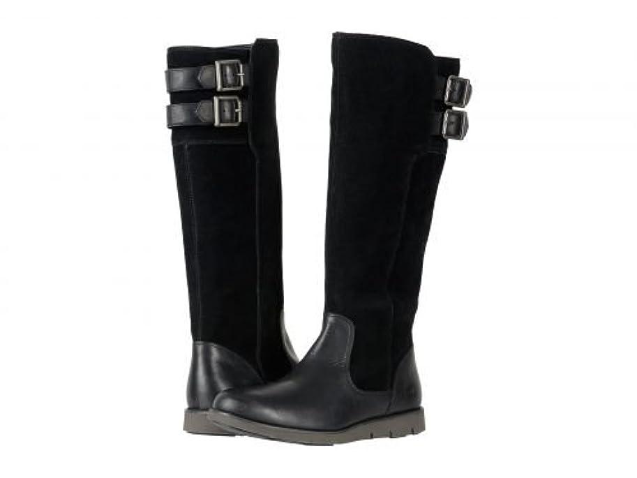 トライアスロンアンテナ球状[ティンバーランド] レディース 女性用 シューズ 靴 ブーツ ロングブーツ Lakeville Tall Boot - Black Full-Grain/Suede [並行輸入品]