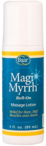 Magi Myrrh Massage Lotion Roll-On, Helps Relieve Sore, Stiff Muscles and Joints, 3 fl. oz.