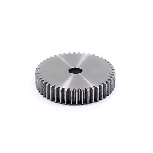 BAIJIAXIUSHANG 1M 42/43Teeth Brass Extrusion Wheel Gears Pinions for 3D Printer Parts (Number of Teeth : 43 Teeth)