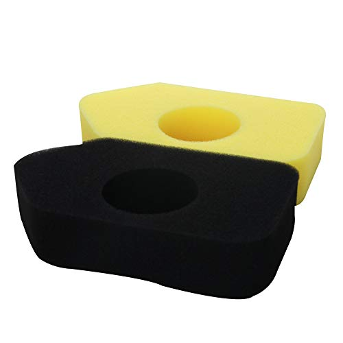 Othmro 698369 490-200-0011 Air Filter - Air Filter Foam Element Replacement Yellow and Black for Briggs & Stratton #S 4216 5086K 5088 5088H 5099 698369 1pcs