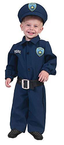 Policeman politieman babykostuum - schattig politie-kostuum voor jongens naar carnaval