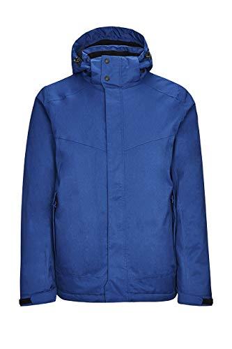 Killtec Realdo Veste fonctionnelle pour homme avec capuche amovible M bleu nuit