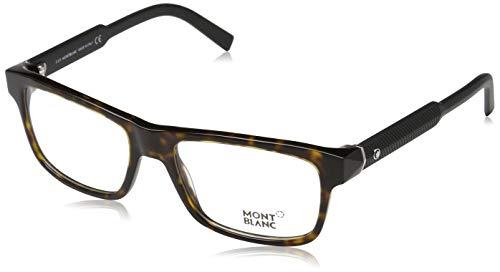 Montblanc Mont Blanc Brillengestelle Mb0681 056-56-18-140 Monturas de gafas, Marrón (Braun), 56 Unisex Adulto