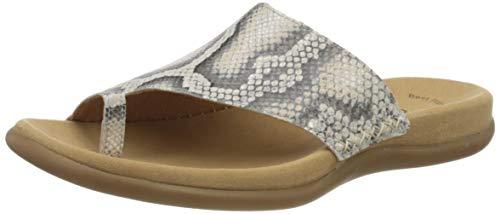 Gabor Shoes Damen Jollys Pantoletten, Beige (Leinen 32), 36 EU