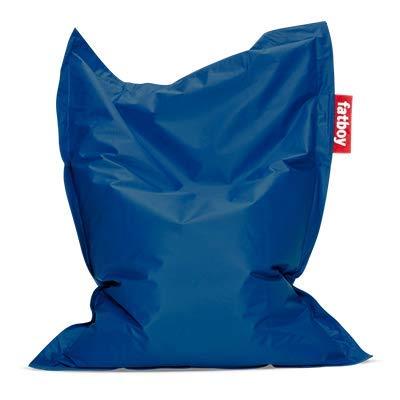 Fatboy® Original Sitzsack Junior | Klassisches Indoor Sitzkissen speziell für Kinder in Petrol | 130 x 100 cm