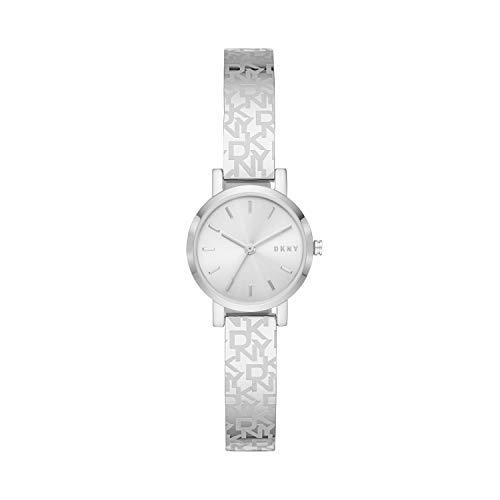 DKNY Women's Soho Slim Stainless Steel Dress Quartz Watch