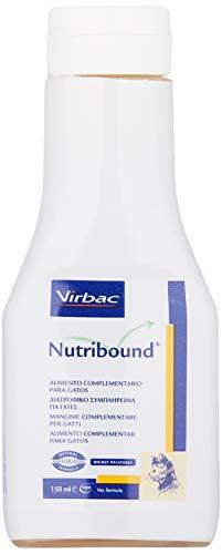 Virbac 3597133067576 Nutribound3Botellas para Gatos- 150 ml