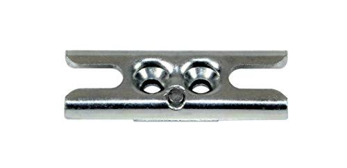 Universal Stahl WK2 Sicherheits Pilzkopf Schließblech zum nachrüsten für .z.B. GU, Siegenia, Roto, Maco, Winkhaus usw.