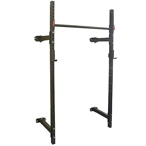 Titan Fitness T-3 Series Short Folding Power Rack 21.5' Depth Pull-ups Squats Strength Training