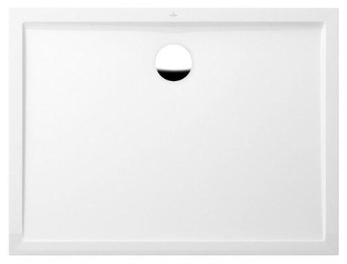 Villeroy en Boch douchebak rechthoek Futurion 140x90x2,5cm, wit - UDQ1490FFL2V-01
