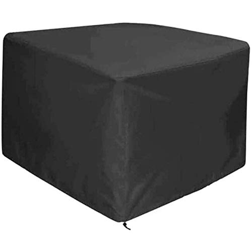 STZYY Garden Furniture Covers,Patio Furniture Cover, Waterproof Tarpaulin Tear-Resistant Windproof Sun Protection Suitable for Outdoor Device, Can Withstand All Kinds of Difficulties,Black,265x240