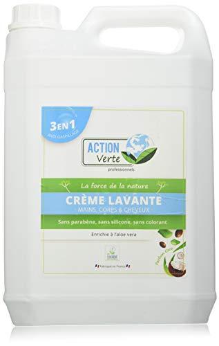 ACTION VERTE Action Verte Creme lavante Mains Corps/Cheveux Coco Écolabel