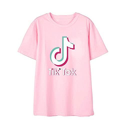 Camiseta Clásica De Manga Corta TIK-Tok De Verano para Hombres Y Mujeres Camiseta Deportiva para Ejercicios De Gimnasio Muscular Camiseta Ropa Deportiva Al Aire Libre XL