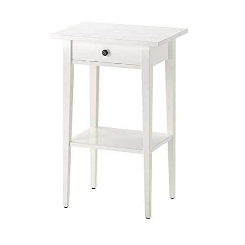 MSAMALL HEMNES Nachttisch, weiß, 46x35 cm, strapazierfähig und pflegeleicht, Beistelltische, Couchtisch & Beistelltische | Tische & Schreibtische | Möbel | Umweltfreundlich