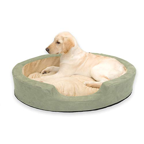 K&H Pet Products Thermo-Snuggly Sleeper Heated Dog Bed