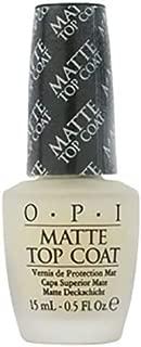 OPI Matte Top Coat NT T35 Nail Polish - Matte Top Coat NT T35, 0.5 oz.