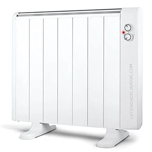 Suinga Emisor térmico 7 elementos sin aceite. 1300W. 2 niveles de potencia. Pies de apoyo incluidos.