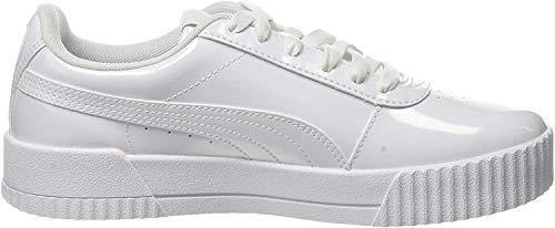 Puma Damen Carina P Sneaker, Weiß (Puma White-Puma White 02), 40.5 EU