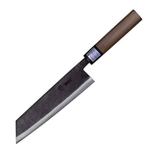 Moritaka Hamono Kiritsuke Japanese Multi Purpose Hand-forged 3-layered Aogami II High Carbon steel Blade