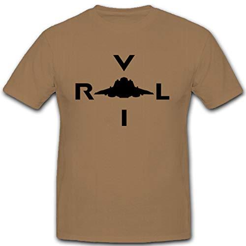 Haunebu VRIL Reichsflugscheibe UFO Fliegende Deutschland - T Shirt #10627, Farbe:Sand, Größe:Herren L