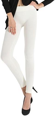 SENSI Leggings Femme Sous Pied Fuseau Ave Trier Microfibre antibact/ériostatique sans coutures Made In Italy