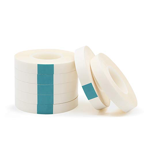 GiveU Double Sided Adhesive Tape 28 Yards, Removable, for Gift wrap, White 7 Pack