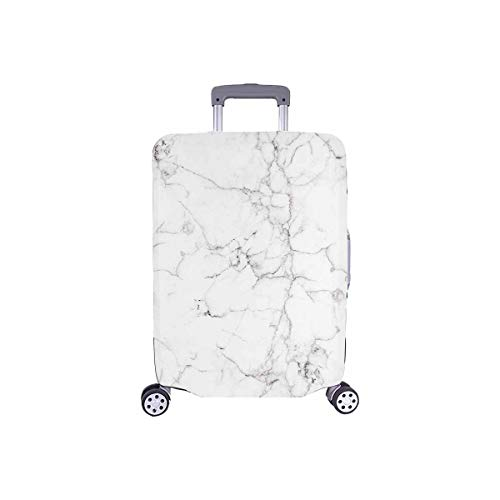 InterestPrint Vintage Marble Stone Luggage Cover Suitcase Bag Baggage Cover for 26'-28' Luggage