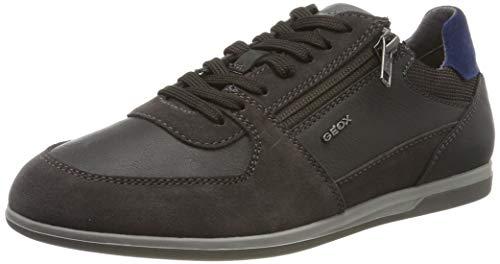 Geox U Renan B, Sneakers Basses Homme, Marron (Mud C6372), 42 EU