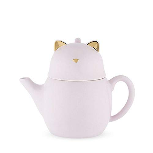 Pinky Up Purrrcy Cat Tea For One Set, Size, Multicolor