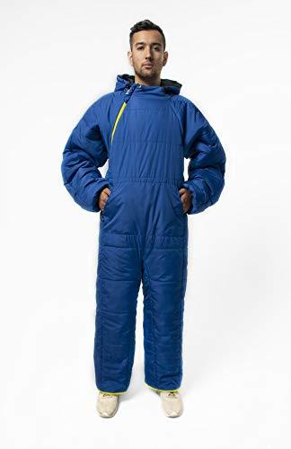 Selk'bag Lite 6G Tragbarer Schlafsack, Blau Abend, m