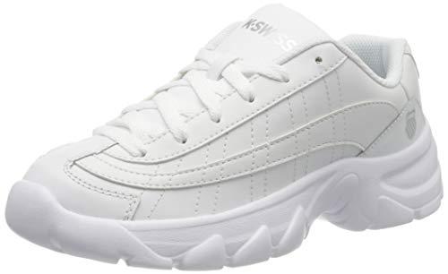 K-Swiss Damen ST129 Sneaker, Weiß (White/White/Silver 934), 42 EU