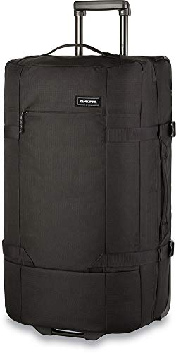 Dakine Split Roller EQ Travel Luggage, Trolley and Sports Bag with Wheels and Telescopic Handle, Black, 100 L