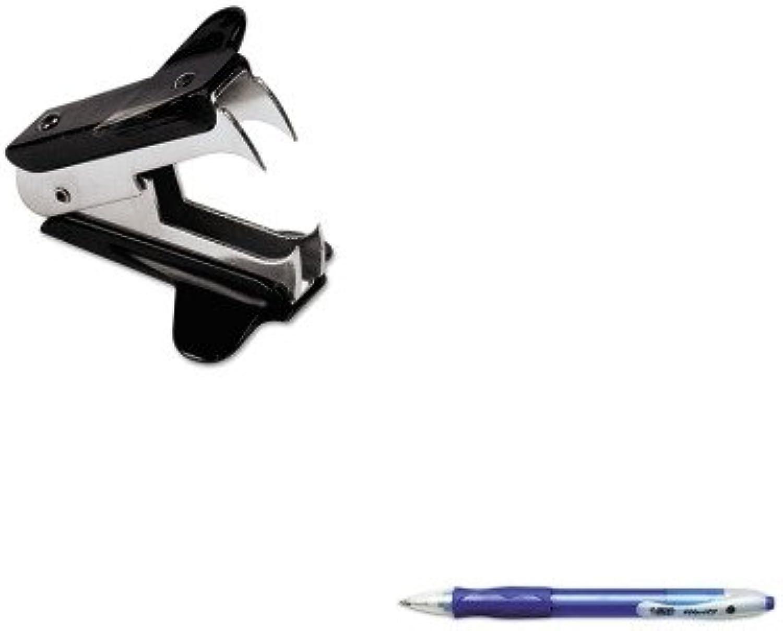 Kitbicvlg11beunv00700 – Value Value Value Kit – Bic Velocity Kugelschreiber Einziehbarer Stift (bicvlg11be) und Universal Jaw Stil Staple Remover (unv00700) B00MOQ0ALC | Guter weltweiter Ruf  a5f4d6