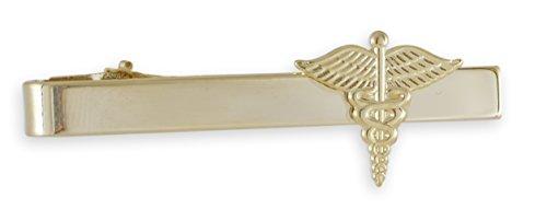 Forge Caduceus Emblem Tie Bar MD Doctor Gift