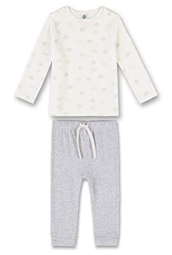 Sanetta 221390, Ensemble de Pyjama Mixte bébé, Beige (Broken White 1427), 3 Ans