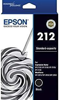 Epson 212 Standard Capacity Ink Cartridge, Black