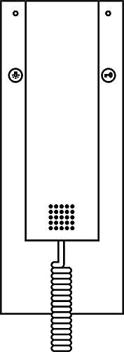 Siedle&Söhne Hörer ws 200015505-00 ohne Federzugschnur Sonstiges Montagezubehör für Türkommunikation 4015739155057