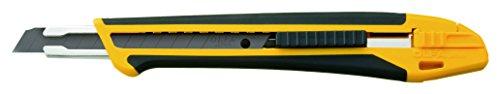 Olfa 201801 Cúter Serie X con cuchilla de 9 mm y bloqueo automático, Negro