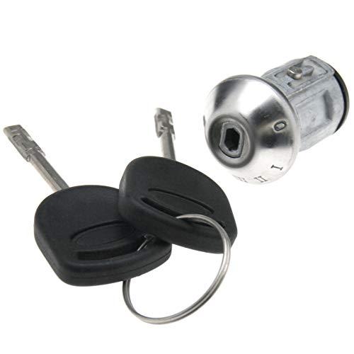 ENET 2 llaves de encendido barril interruptor de bloqueo cilindro dirección Repai