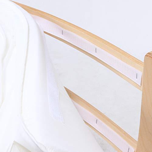不二貿易ロッキングチェア木製リクライニングリラックスチェアスリムアイボリー40817