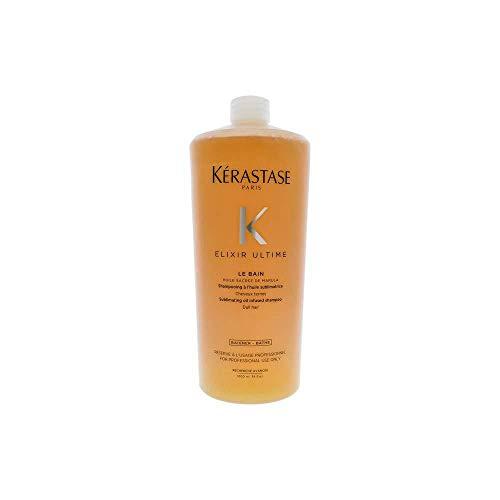 Kerastase - Gamme Elixir Ultime - Bain Elixir Ultime lavant quotidien concentré en huiles précieuses, pour tous types de cheveux - 1000ml