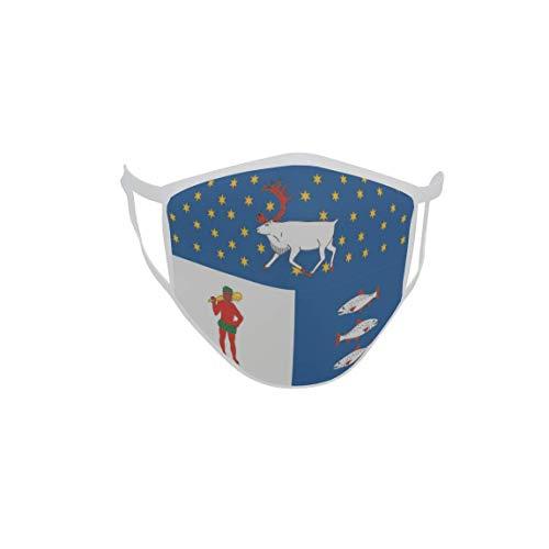 U24 Behelfsmaske Mund-Nasen-Schutz Stoffmaske Maske Västerbottens Iän