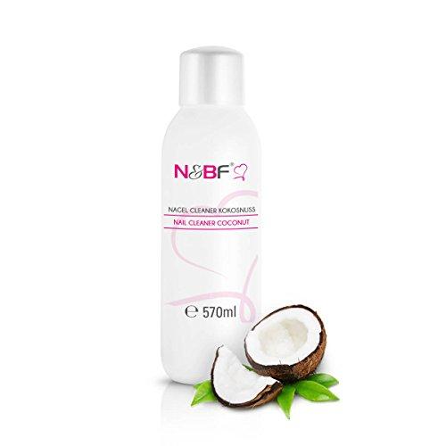 Cleaner per unghie al profumo di cocco 570 ml-Pulitore Nail utilizzato per pulire e sgrassare in qualità da studio